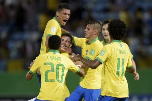 Brasil enfrenta a Itália nas quartas de final do Mundial Sub-17
