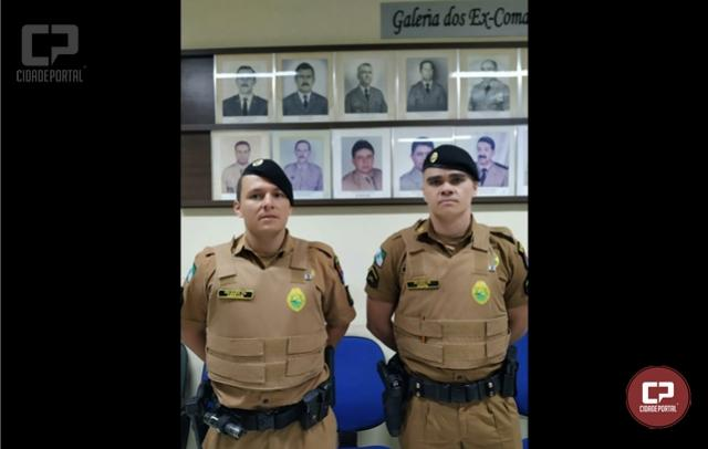 Equipe Policial Militar salva bebê que estava engasgado em Cruzeiro do Oeste