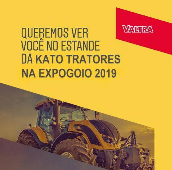 Equipe kato Tratores estará com stand na Expo-Goio 2019! - esperamos sua visita