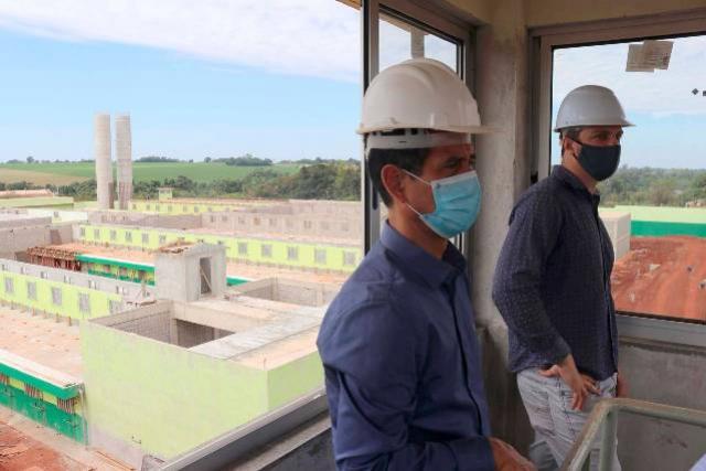 Obra da cadeia pública de Foz do Iguaçu está 75% concluída
