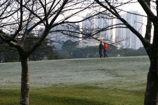 Simepar prevê inverno com pouca chuva e oscilações de temperaturas