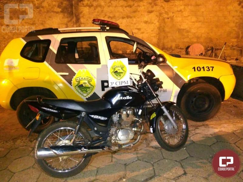 Polícia Militar da 3ª CIPM prende homem por praticar diversas infrações de trânsito em Marilena.