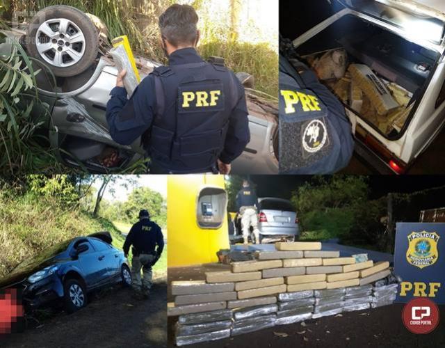 Operação Tamoio II: No 1º dia, mais de seiscentos quilos de maconha foram apreendidas no Paraná