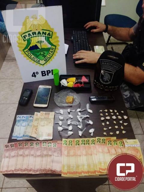 Drogas, carregadores e dinheiro apreendidos e cinco pessoas detidas durante Operação em Maringá