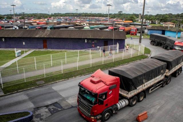 Pátio de Triagem do Porto de Paranaguá tem movimento recorde