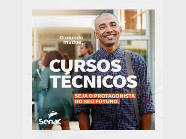 Senac Campo Mourão Cursos Técnicos 2021
