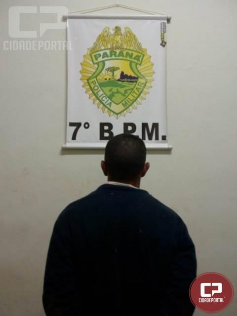 Polícia Militar prende foragido da Penitenciária Estadual de Cruzeiro do Oeste