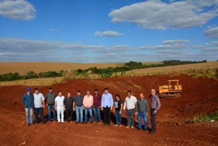 Autoridades acompanham melhorias na área rural do município de Moreira Sales