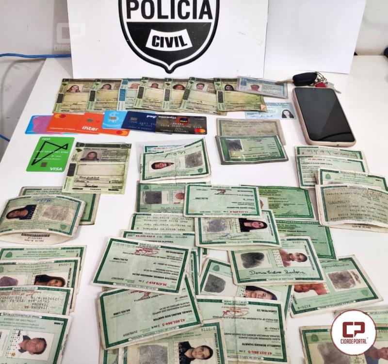 Polícia Civil apreende mais de 70 documentos falsos e evita crimes contra o comércio, principalmente