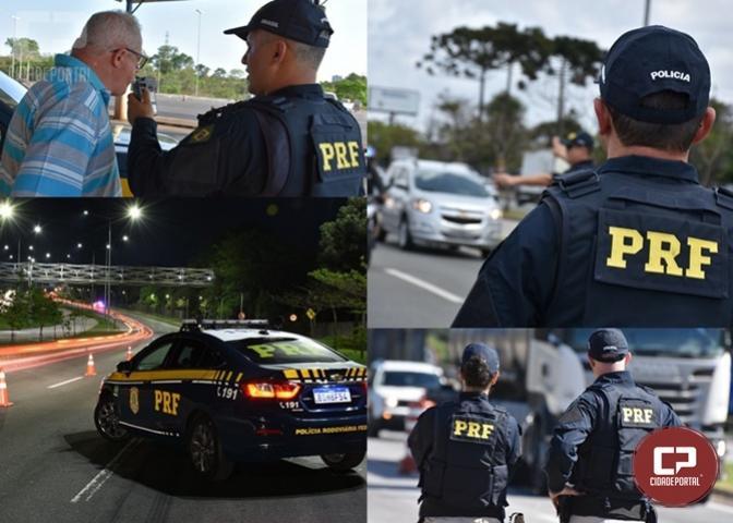 PRF registra seis mortes e 101 motoristas bêbados durante o feriado no Paraná