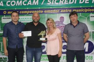 Em noite de festa, Copa Comcam/Sicredi premia os vencedores