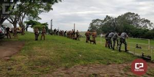 CANIL do 25° Batalhão de Umuarama entregou certificados de conclusão do I Seminário Cinotécnico
