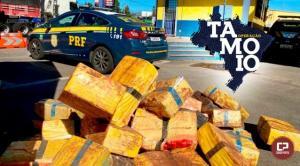 TAMOIO: PRF encerra maior operação de combate ao crime da instituição