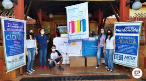 Rotary club de Janiópolis faz doações para o lar dos velhinhos Frederico Ozanan de Campo Mourão