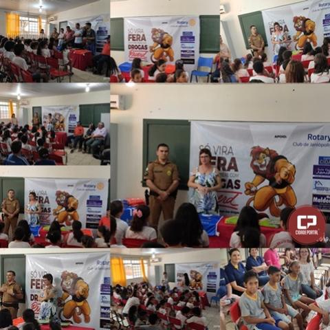 Aula inaugural do Proerd 2019 foi realizada para alunos de Janiópolis
