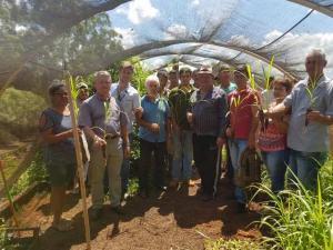 Emater realiza reunião prática sobre alimentação animal em Janiópolis