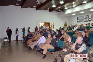Reunião do Gabinete de Gestão Integrada de Fronteira foi realizada em Ubiratã