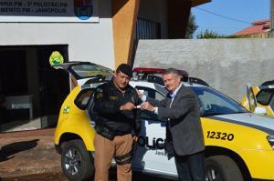 Nova viatura é entregue para Polícia Militar de Janiópolis
