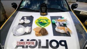 Equipe do Canil de Umuarama presta apoio para os Militares de Goioerê e localiza drogas enterrada