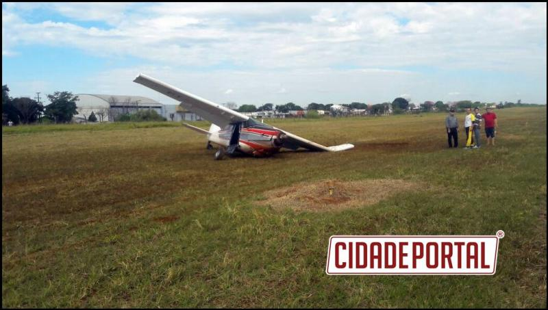 Avião com equipes de paraquedistas cai no aeroporto de Campo Mourão após manobras rasante