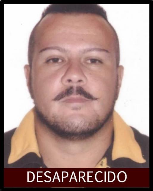 Luciano Aparecido Ferreira de 37 anos esta desaparecido desde o dia 7 de fevereiro em Capina da Lagoa