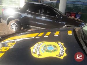 Polícia Rodoviária Federal apreende dois menores que levavam carro roubado para o Paraguai