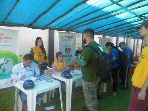 Janiópolis realiza a sua 1ª Caminhada Internacional na natureza