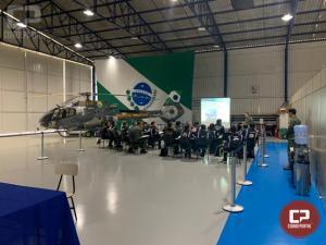 Tripulação do helicóptero realiza Curso de Capacitação de Suporte Médico em Curitiba