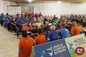 Reunião técnica alinha atuação da equipe de arbitragem nos JOJUPS