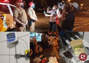Passageiro embarca em Janiópolis e é preso pela Polícia Rodoviária Estadual de Floresta com 20 kg de maconha