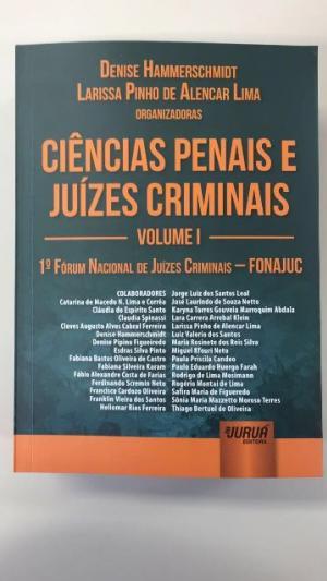 Juiz de Ubiratã lança livro em co-autoria com juízes criminais de todo o País