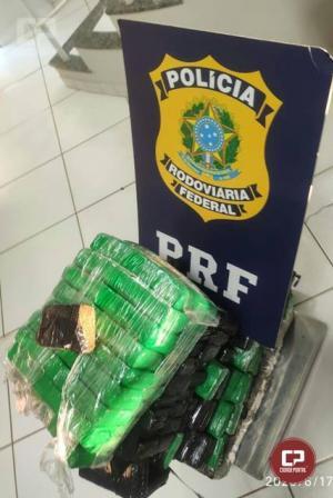 Operação Flagellum: Em 12 horas, PRF apreende mais de 1 tonelada de maconha no Paraná