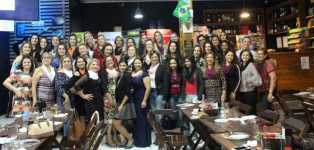 Diretoras da Câmara da Mulher Empreendedora Cmeg participam de Palestra na Acijan