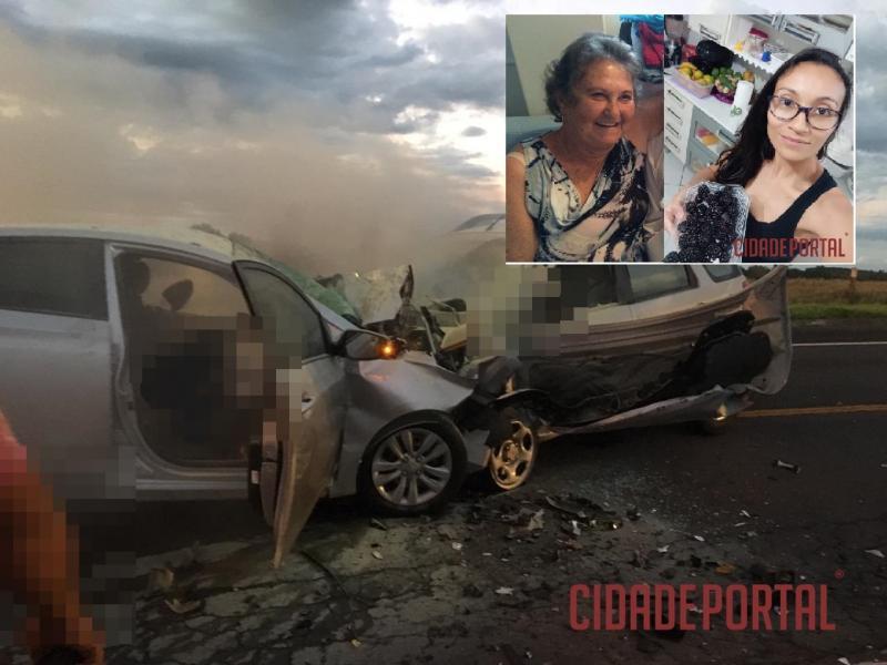 Acidente na BR-272 entre Goioerê e Janiópolis mata duas mulheres de Goioerê