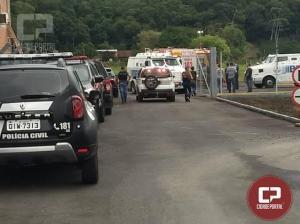 Mourãoense é preso após participar de assalto milionário em Aeroporto de Santa Catarina