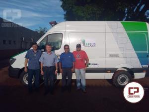 Douglas Fabrício viabiliza Van para a Saúde de Janiópolis