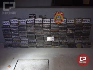Polícia Federal apreende grande quantidade de cloridrato de cocaína