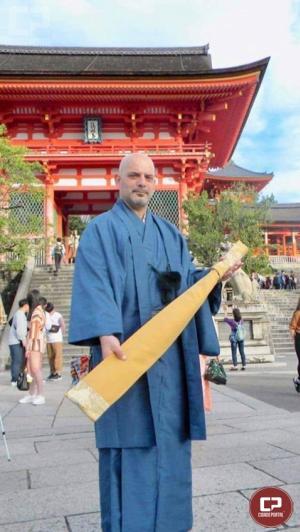 Samurai de Goioerê representa o Brasil no Japão