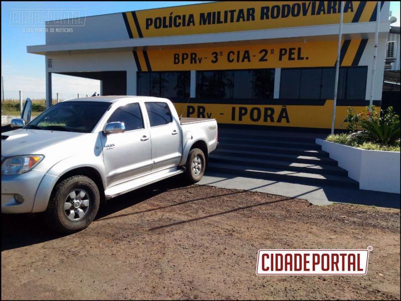 Polícia Rodoviária de Iporã recupera veículo roubado na cidade de Maringá