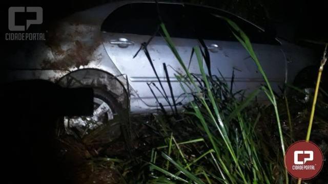 Três pessoas ficam ferias em acidente no anel viário de Toledo na PR-585