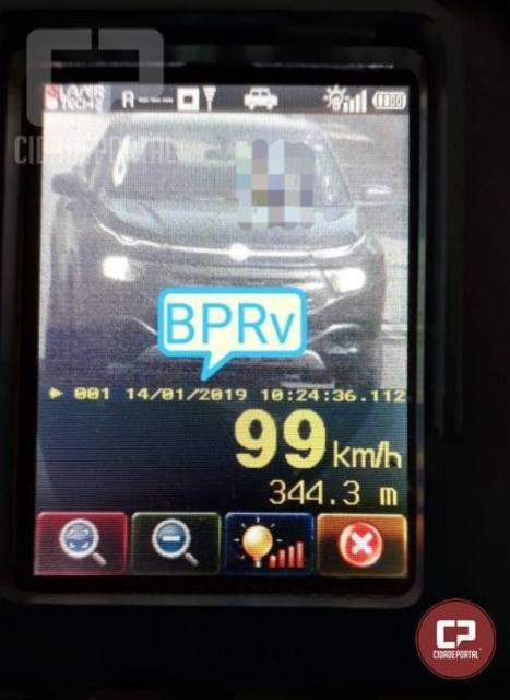 41 motoristas foram autuados pela PRE durante a operação Radar em Toledo