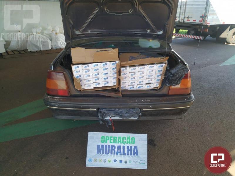 Veículos são apreendidos com cigarros em Santa Terezinha de Itaipu
