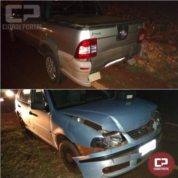 Polícia Rodoviária de Assis Chateaubriand prende uma pessoa após causar acidente