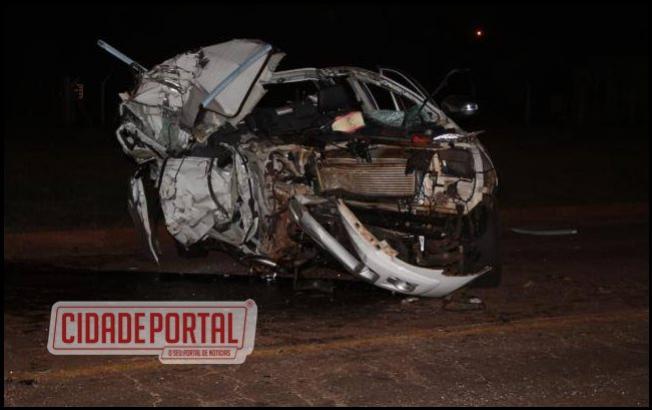 Médico mourãoense sofre grave acidente na BR-487 na noite desta terça-feira, 01