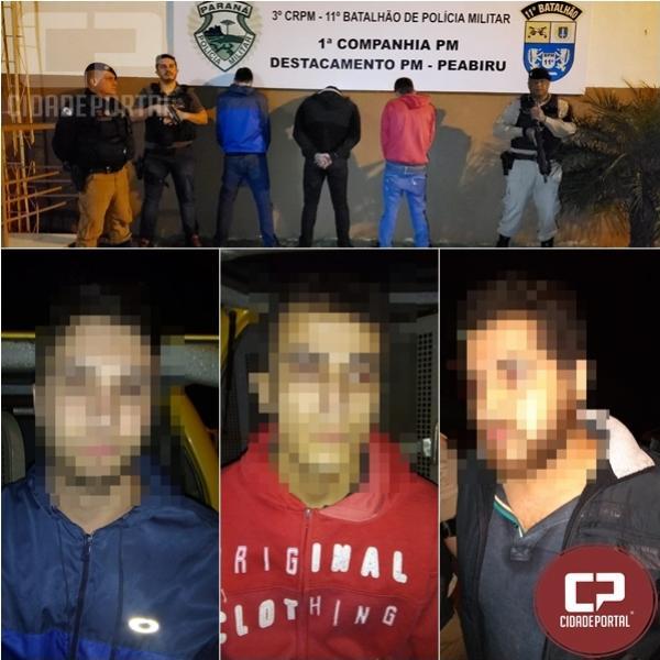 Polícia Civil e Militar prende envolvidos no crime de homicídio na cidade Araruna