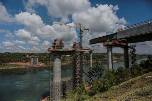 Nova ponte é peça-chave na parceria do Estado com a Itaipu