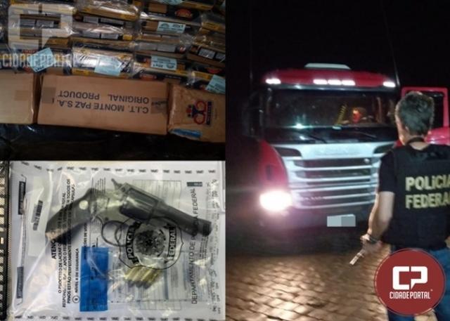 Polícia Federal apreende grande quantidade de cigarros contrabandeados