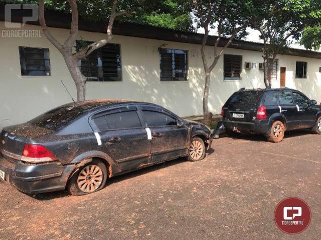 Policiais do 7º BPM apreendem drogas e dois veículos carregados com contrabando