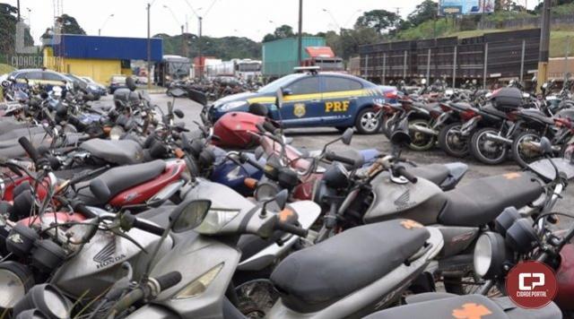 PRF disponibiliza R$ 157 mil a donos de veículos leiloados no Paraná