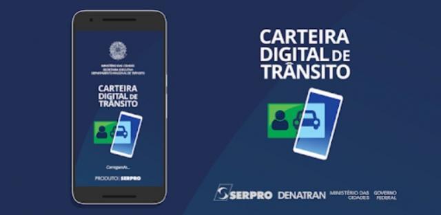 Carteira Digital de Trânsito tem duas novas funcionalidades